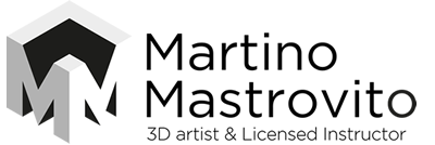 Martino Mastrovito 3D Modeler - Renderist | Licensed Instructor
